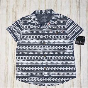 okie dokie Shirts & Tops - Okie dokie brand NWT button down top 5T